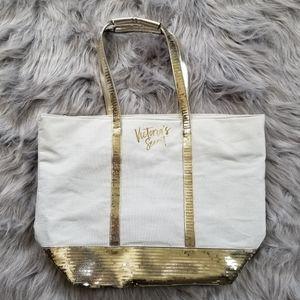 Victoria's Secret Sequin Bling Tote Bag